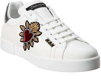 Dolce Gabbana Sneakers, Sneakers For Sale, Leather Design, Leather Sneakers, White Leather, Product Launch, Lace Up, Louis Vuitton, Coupons