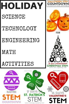 Holiday Activities STEM and Seasonal Science Experiments