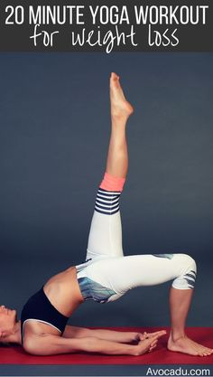 DownDog Yoga Poses for Fun & Fitness: 20 minute yoga workout for weight loss. From the Downdog Diary Yoga Blog found exclusively at DownDog Boutique. DownDog Diary brings together yoga stories from around the web on Yoga Lifestyle... Read more at DownDog Diary
