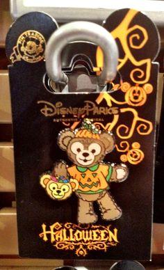 2012 Halloween Pin - Duffy #Duffy #DuffyTheDisneyBear #DisneyBearsDisneyParks