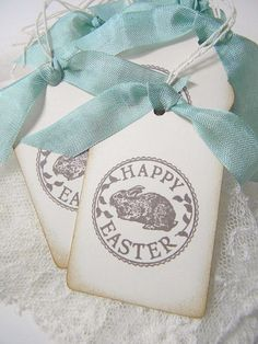 Easter tags!