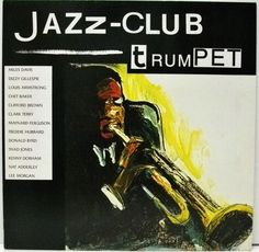 1989 Jazz-Club: Trumpet [Verve 840038-1] cover painting by Alice Choné #albumcover