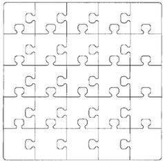 Blank puzzle pieces, game boards, ect. can use for community building activities