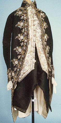 Man's Suit (habit à la française)  c. 1790, French.
