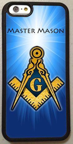 Master Mason Black Phone Case Cover Beautiful iPhone 6 + 6s 5s 5c 4s 4 PHA #UnbrandedGeneric