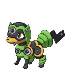 Schall-Welpe Fakemon. Reminds me of riolu