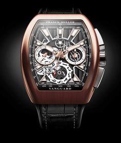 Franck Muller Vanguard Grande Date #franckmuller #hautehorlogerie #luxurywatches