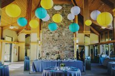 Hanging Lanterns at an Oak Brook Bath & Tennis Wedding Chicago Wedding Venues, Unique Wedding Venues, Oak Brook, Wedding Draping, Led Dance, Pipe And Drape, Event Services, Elements Of Style, Event Lighting