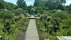 Walled garden 6-21-18 Old Westbury Gardens, Walled Garden, Sidewalk, Fenced Garden, Side Walkway, Walkway, Walkways, Pavement