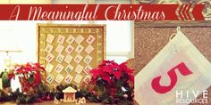 Fun & Meaningful Advent Ideas for the Family {Hive Resources}