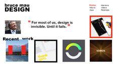 Homepage schets 1