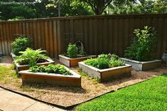 More planter boxes - I like the idea of having a small seat around my future herb box.