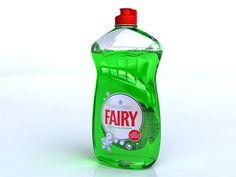 3D Model Fairy Liquid - 3D Model