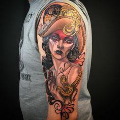 #girlswithtattoos #inked #inktattoo #tatts #tattooartist #teamfollowback #tattoostyle #tattooedgirls