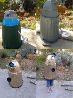 Create a Dr Who Dalek costume out of household items!