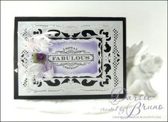 JustRite Papercraft Birthday Cake Background Stamp and Birthday Wishes for You Cling Stamps