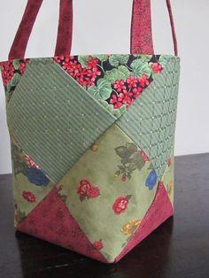 7e290198ded Handmade Fabric Handbag medium by LovelyBucketBags on Etsy,  35.00 Fabric  Handbags, Handmade Handbags,