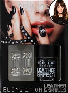 Alexa Chung loves this leather nail polish!http://www.eonline.com/news/368839/alexa-chung-tweets-new-leather-nail-polish-waiting-list-climbs-to-870