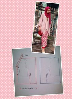 30 ideas sewing dress patterns free tunics for 2019 Sewing Clothes Women, Diy Clothes, Dress Clothes, Dress Sewing Patterns, Sewing Patterns Free, Pattern Sewing, Dress Tutorials, Sewing Tutorials, Latifa