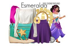 """Esmeralda"" by leslieakay ❤ liked on Polyvore featuring L. Erickson, Rebecca Minkoff, Ben-Amun, Phoebe Coleman, Charlotte Russe and ABS by Allen Schwartz"