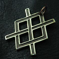 Bronze Gungnir pendant from The Sunken City by DaWanda.com