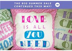 More gorgeous cushions from Sass & Belle