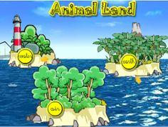 """Primaria Con las divertidas actividades de """"Animal Land"""" podrás aprender los nombres en inglés de tus animales favoritos y repasar muchos de los conceptos básicos que has estudiado durante este curso."""