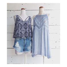 TROPICAL VIBE  www.cinco-boutique.com #cancun #cincoboutique #shopping #bluemonday #tendencias #diseñomexicano #cutoffs #tunic #tropical