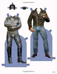 Leathermen Paper Dudes: Thom Magister: 9780991048304: Amazon.com: Books