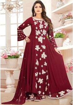 Palazzo Suit, Salwar Kameez, Dresses With Sleeves, Suits, Long Sleeve, Design, Fashion, Moda, Shalwar Kameez