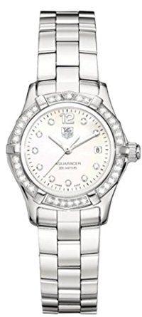 TAG Heuer Women's WAF1416.BA0813 Aquaracer Diamond Accented Quartz Watch Review