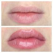 Too Faced Lip Injection Color Bomb in Bee Sting, before & after - Cosmetic Surgery Smokey Eye Makeup, Lip Makeup, Lipstick Tutorial, Semi Permanent Makeup, Bee Sting, Go For It, Lip Injections, Big Lips, Lip Fillers