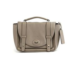 Handbag BLEECKER MINI BROOKLYN MESSENGER BAG IN LEATHER (COACH F32279) Crossbody