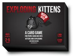 Exploding Kittens - A card game:D hint: Diverta