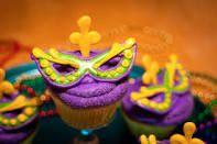 mardi gras cupcakes - Google Search