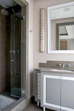 PARIS - BLD ST GERMAIN : APPARTEMENT   PARIS - BLD ST GERMAIN: APARTMENT   Jean Louis Deniot bathroom vanity