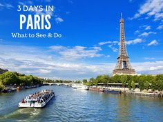 Paris in 3 days: what to see and do