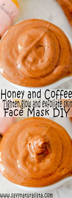 Coffee and Honey for Tighten Skin Face Mask - Savvy Naturalista - Keepin It Natu. - Coffee and Honey for Tighten Skin Face Mask – Savvy Naturalista – Keepin It Natural - Masque Facial Diy, Diy Masque, Facial Masks, Facial Cleanser, Facial Scrubs, Tightening Face Mask, Skin Tightening Foods, Whitening Face Mask, Mascarilla Diy