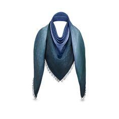 Blurrygram Monogram Shawl   Women Accessories Scarves and shawls | LOUIS VUITTON