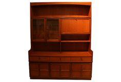Danish Modern Bar Buffet Storage Cabinet on OneKingsLane.com