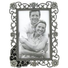 """4"""" x 6"""" Silver Photo Frame with Scroll & Jewels sku# 583054  Brand: Green Tree Gallery  Color: Silver Dimensions: 4"""" x 6"""" Hobby Lobby. $6.99"""