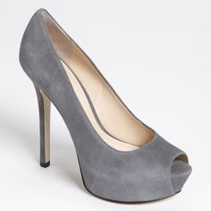 """Suede Heels Enzo Angliolini Heels with no dents. Heel is 5.25"""", platform is 1.5"""" high. Casual wear on heels, see image. Ships without box. Enzo Angiolini Shoes Heels"""