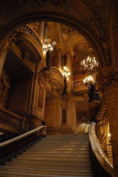 Opera House, Paris  photo via keith