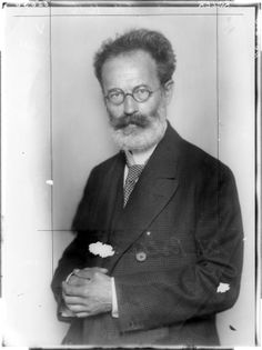 Alfred Roller, 1920 by Madame d'Ora, Atelier....Alfred Roller (1864-1935) was an Austrian painter, graphic designer, and set designer.