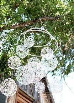 String chandelier