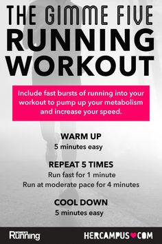 Time to get moving! An easy to follow fartlek workout we've created with @hercampus.