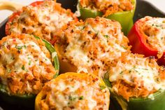 Trader Joe's Ground Turkey Stuffed Peppers with Pepper Jack