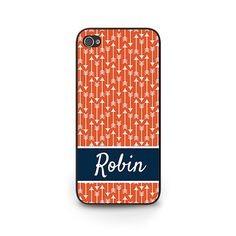 Personalized Red Arrow Phone Case