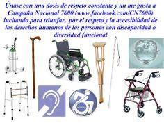 Derechos humanos de las personas con discapacidad www.facebook.com/CN7600