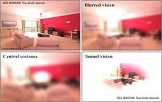 Expérience 3D pour comprendre les malvoyants www.santecool.net